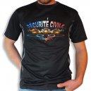 Tee shirt Men Fire : Sécurité civile