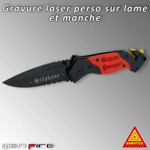 Couteau Rescue Dimatex Personnalisé