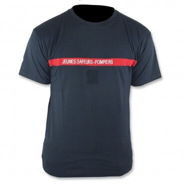 Tee shirt Jeunes Sapeurs-Pompiers