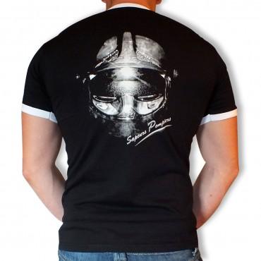 Tee shirt Sapeurs-Pompiers : Casque F1