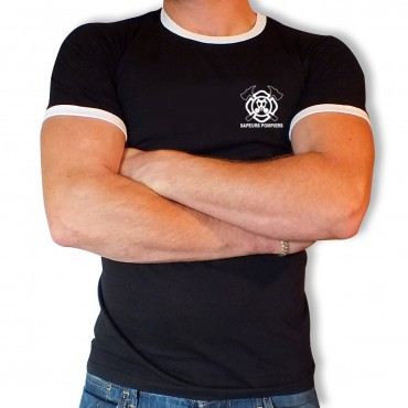 Tee shirt Men Fire : Blason