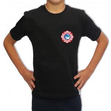 Tee-shirt Sapeur Pompier Enfant - Écusson