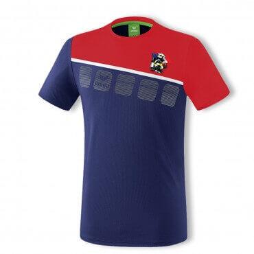Tee shirt Erima - 5-C - Drapeau MF