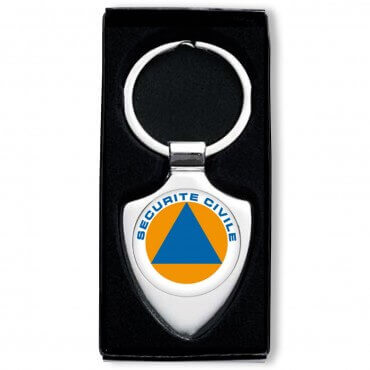Porte clés Sécurité Civile - Blason