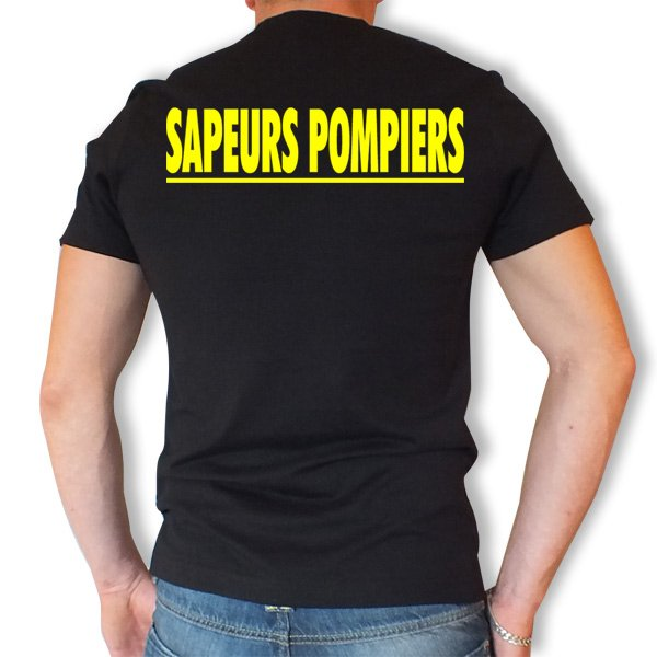 7afcf029ca Tee shirt Officiel – La boutique des Sapeurs Pompiers - Vêtements ...