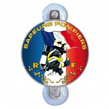 Plaque Auto Pare-Brise - Drapeau MF