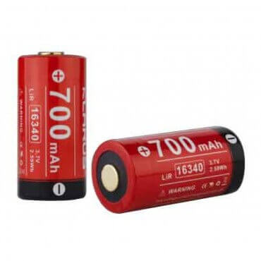 Batterie Klarus 16340...