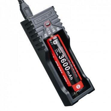 Chargeur Klarus - 1 batterie rechargeable