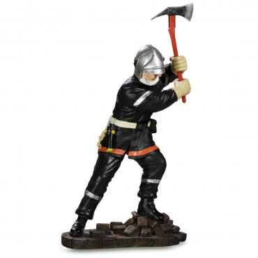 Figurine Pompier avec Hache