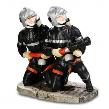 Figurine Pompiers accroupis...