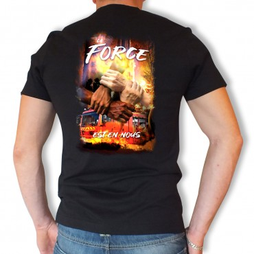 Tee shirt Men Fire : La...