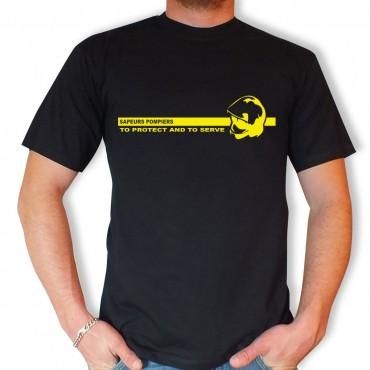 Tee-shirt Men Fire : To...