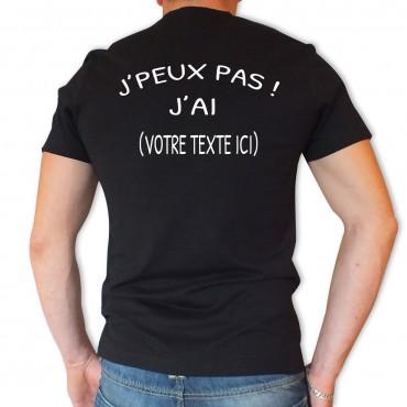 Tee shirt Personnalisé à...