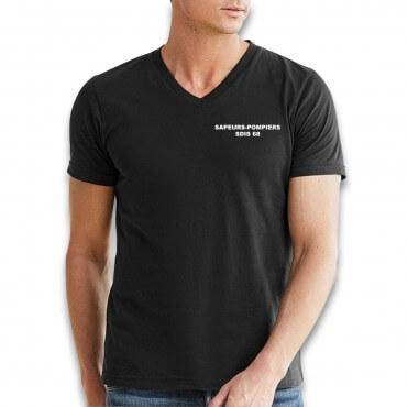 Tee shirt Col V :...