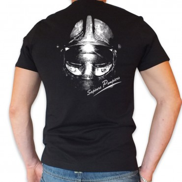Tee shirt Col V : Casque F1