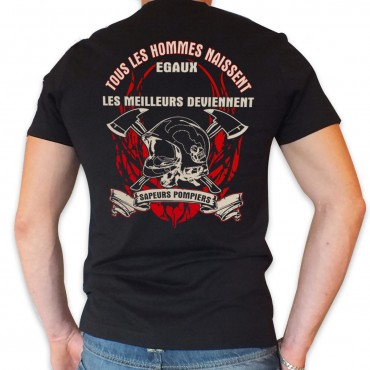 Tee shirt Col V : Libre et...