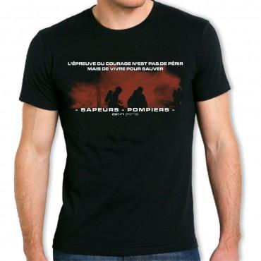 Tee shirt Men Fire : Épreuve