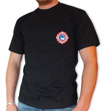 Tee shirt Men Fire : Écusson
