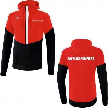 Sweat Capuche Erima SQUAD - Sapeurs-Pompiers