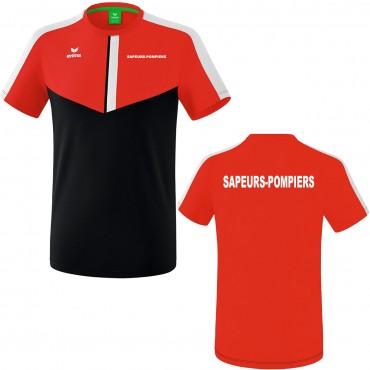 Tee Shirt Erima SQUAD - Sapeurs-Pompiers