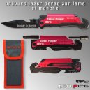 Couteau Tactique MF112 Personnalisé