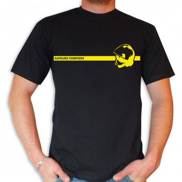 Tee shirt Men Fire : SP Casque