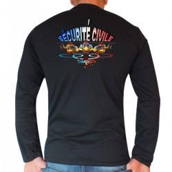 Tee shirt Sapeurs-Pompiers ML : Sécurité Civile