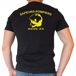 Tee shirt Sapeurs-Pompiers Casque F1 - Personnalisé