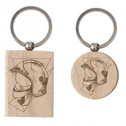 Porte-clés en bois -...