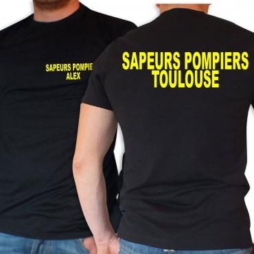 Tee shirt Sapeurs Pompiers Personnalisé