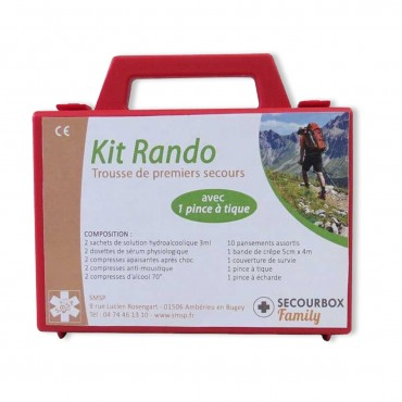 Kit Rando Secourbox Family