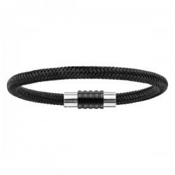 4 Bracelet CHARMS - 2 matières
