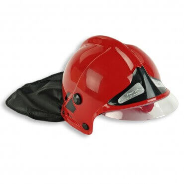 Casque F1 Sapeur Pompier - Rouge