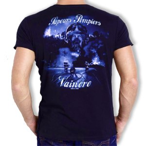 Tee shirt Men Fire : Vaincre