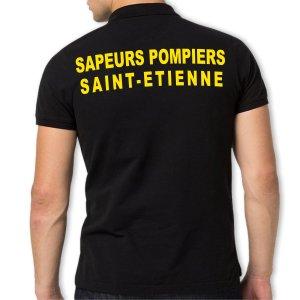 Polo Coton Sapeurs Pompiers - Personnalisé