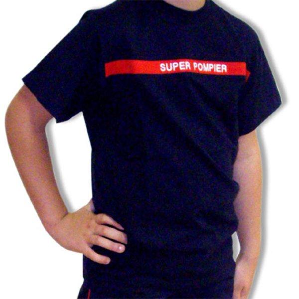 67c075f7baf21 Tee-shirt Super Pompier®