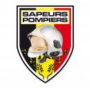 Autocollant Sapeurs Pompiers - Belge