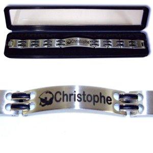 Bracelet Acier Personnalisable