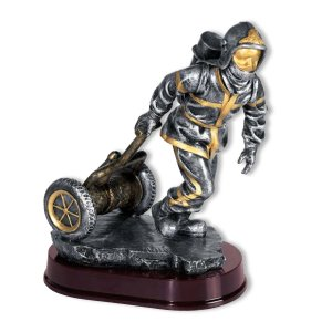 Figurine Pompier Dévidoir Personnalisable
