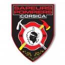 Autocollant Sapeurs Pompiers - Corsica