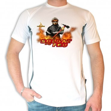 Tee shirt Men Fire : Soldat du Feu