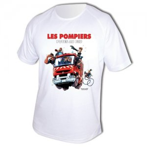 Tee shirt Men Fire : Pote au Feu
