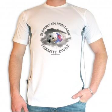 Tee shirt Men Fire : Secours en Montagne