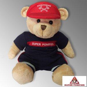 Ours Peluche Super Pompier®