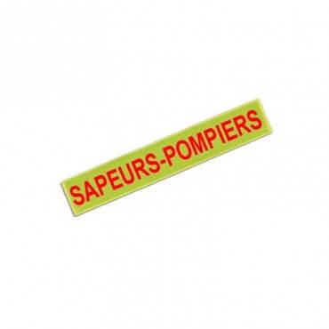Barrette Sapeurs Pompiers - Fluo