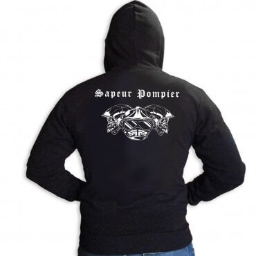 Sweat Capuche Men Fire -...