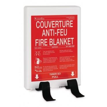 Couverture anti-feu - Coffret rigide